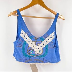 LF Furst of a Kind Blue Upcycled SC Tank Top OS